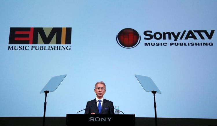 """Сделка на $2,3 млрд сделает Sony крупнейшим музыкальным издателем в мире"""""""