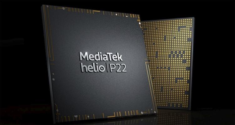 """Чип MediaTek Helio P22 обеспечивает поддержку экранов 20:9 и двойных камер"""""""