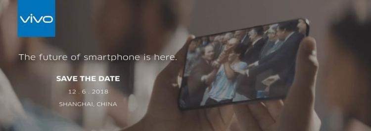 """Концептуальный смартфон с выдвижной камерой Vivo Apex появится в июне"""""""