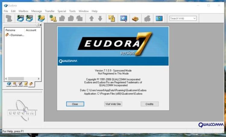 """Опубликован исходный код почтового клиента Eudora"""""""