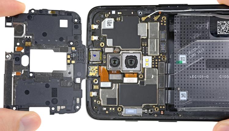"""Вскрытие OnePlus 6: смартфон обладает посредственной ремонтопригодностью"""""""