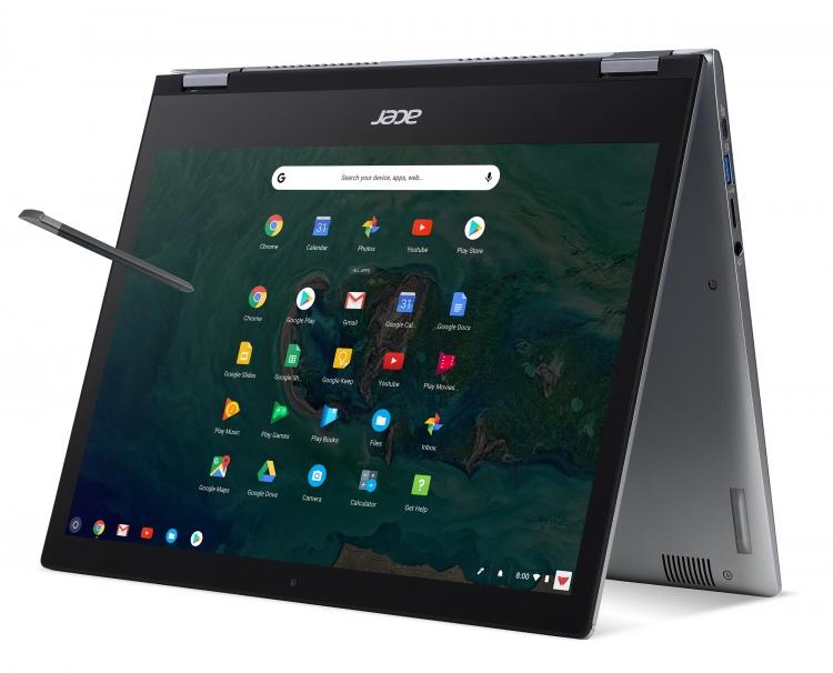 """Новые хромбуки Acer — 15"""" ноутбук-трансформер Chromebook Spin 15 и две 13"""" модели для бизнеса"""""""