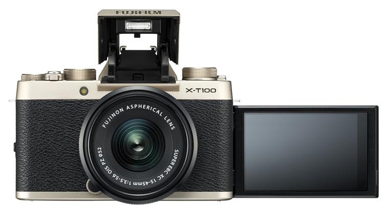 "Fujifilm X-T100: беззеркальный 24-Мп фотоаппарат за $600"""