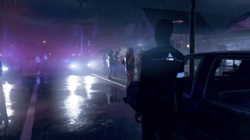 Ночь, дождь, шикарное освещение
