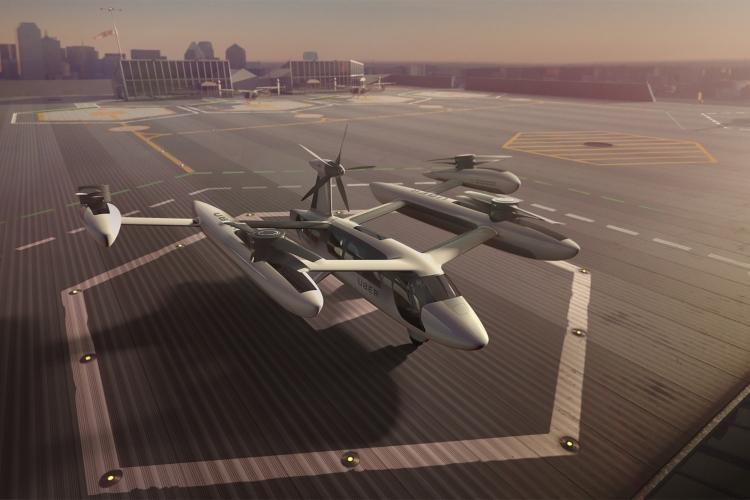 """Uber откроет в Париже Центр перспективных технологий для создания летающих такси"""""""