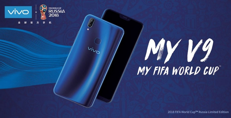 Смартфон Vivo 2018 FIFA World Cup Russia V9 Blue
