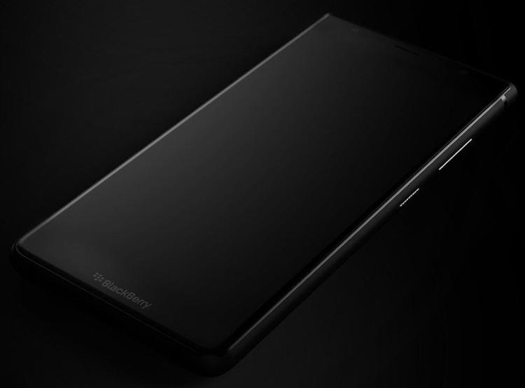 """Анонс бесклавиатурного смартфона BlackBerry Ghost ожидается летом"""""""