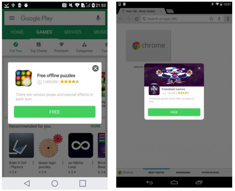 Предустановленный рекламный вирус найден более чем на 100 дешёвых Android-смартфонах