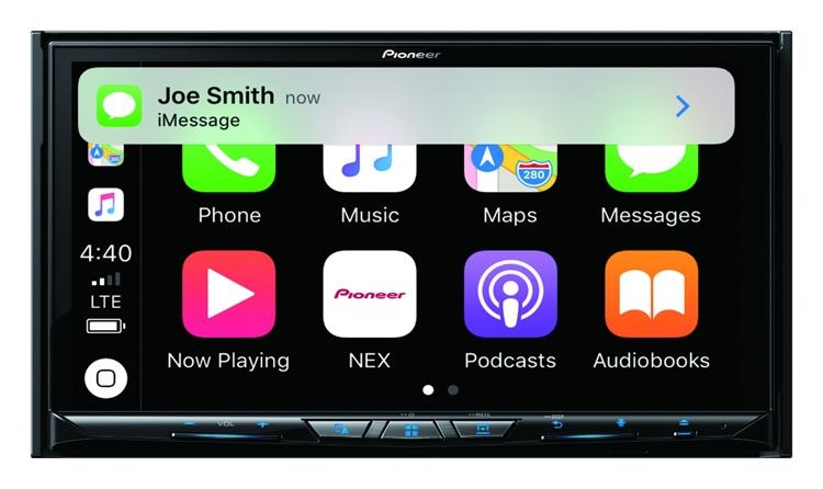 "Новые медиацентры Pioneer получили поддержку Android Auto Wireless и Wireless Apple CarPlay"""