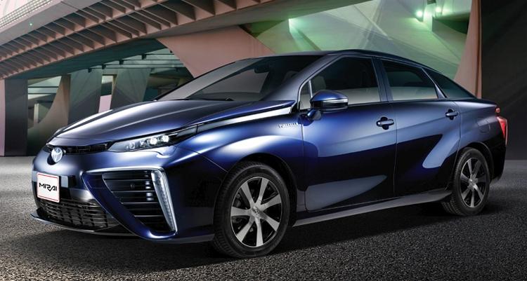"""Toyota пророчит десятикратный рост спроса на водородные автомобили после 2020 года"""""""