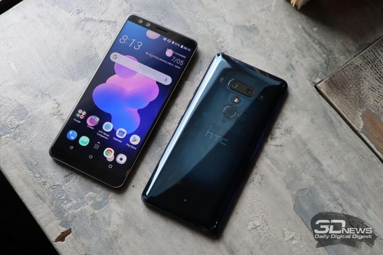 """HTC U12+ не получил переходник с 3,5-мм аудиоразъёмом"""""""