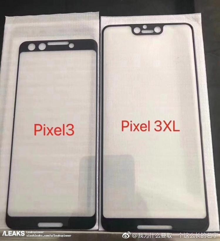 """Google Pixel 3 XL получит экран с вырезом, Pixel 3 — обычную верхнюю рамку"""""""