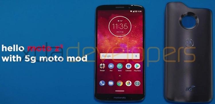 """Новая панель Moto Mods наделит смартфоны Moto поддержкой 5G-связи"""""""