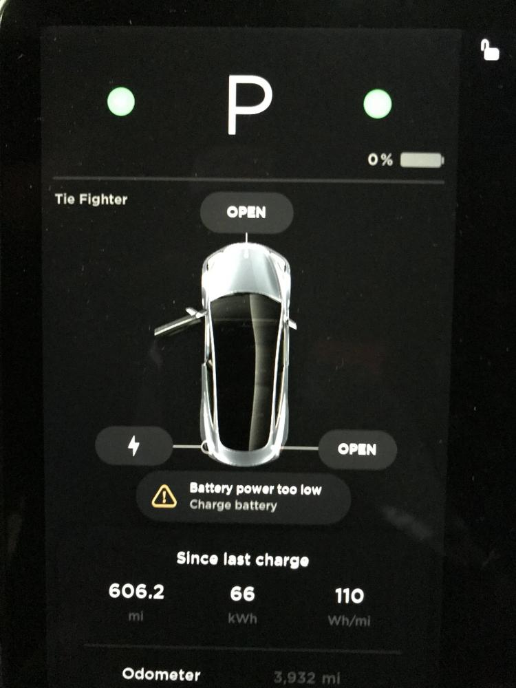 """Установлен новый рекорд по пробегу от одного заряда батареи для автомобилей Tesla"""""""