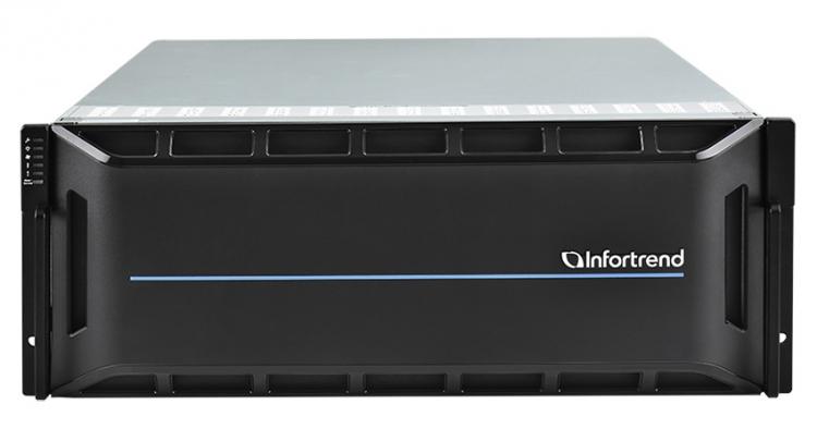 """EonStor GS 5000 Series — мощное решение от Infortrend, объединяющее NAS и SAN с огромным количеством хост-портов"""""""
