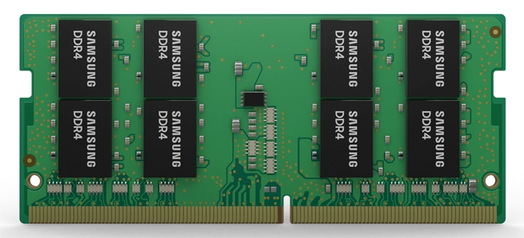 sd1 - В Samsung начат выпуск передовых 32-Гбайт модулей DDR4 для игровых ноутбуков