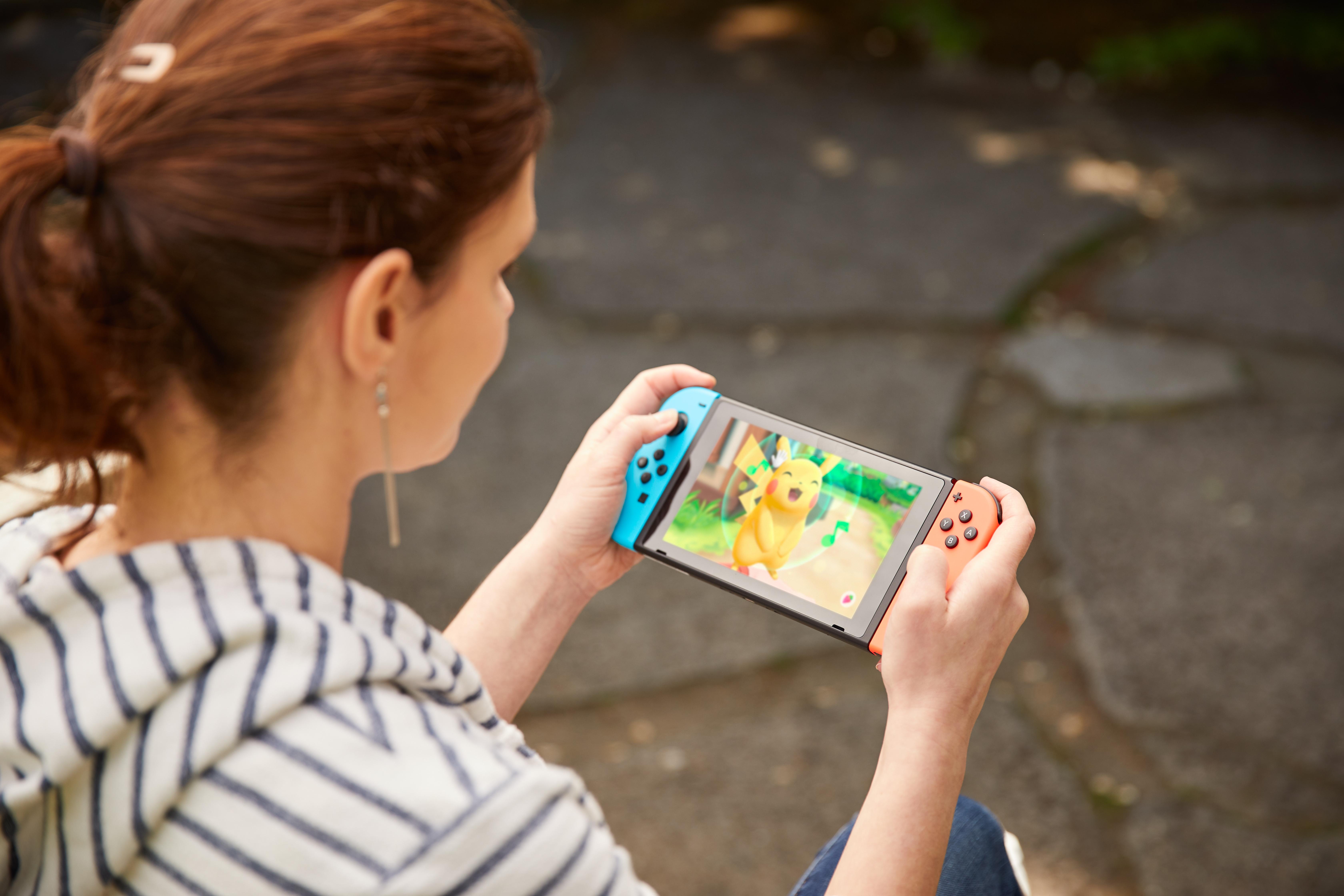 Nintendo анонсировала 3 новые игры опокемонах для портативной консоли Switch