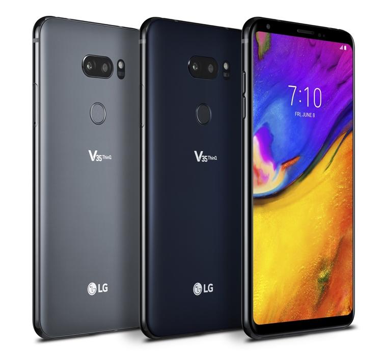 LGпредставила новый смартфон-флагман встаром дизайне