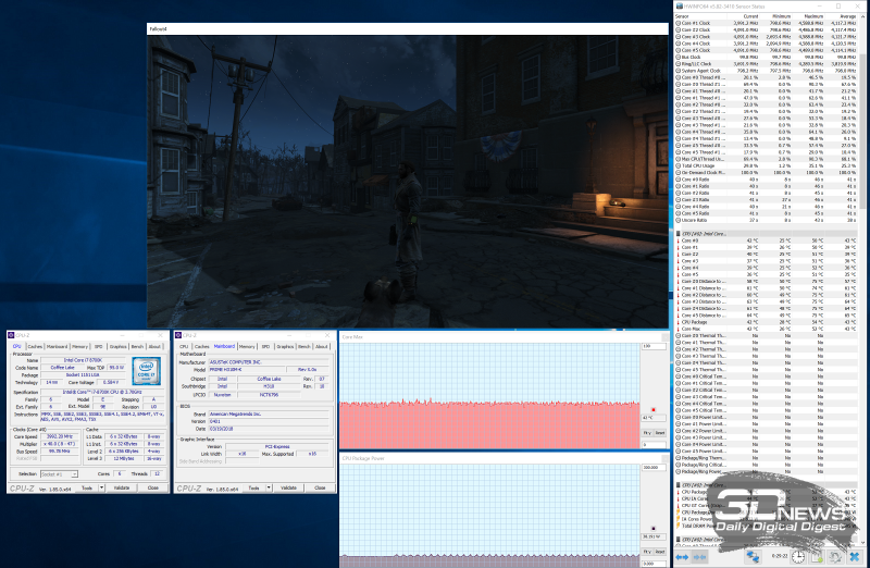 Тестирование ASRock H310M-HDV на стабильность в играх
