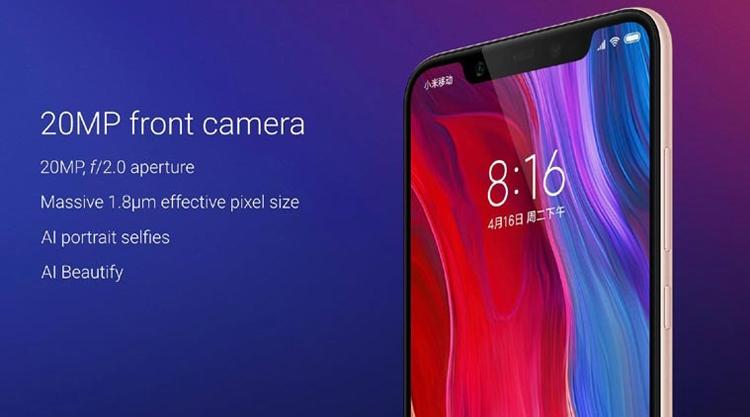 """Дебют смартфона Xiaomi Mi 8: экран с вырезом и 3D-система распознавания лица"""""""