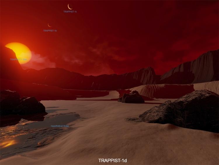 NASA выпустило симулятор путешествий поэкзопланетам