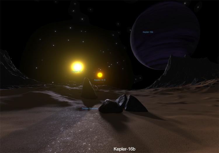NASA запустило симулятор для экскурсии наэкзопланеты