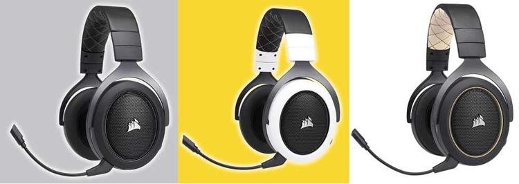 """Беспроводная гарнитура Corsair HS70 подходит для ПК и PlayStation 4"""""""