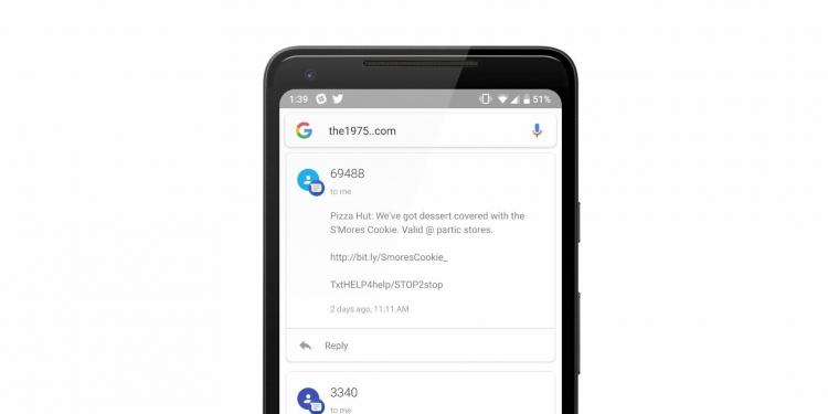 """Необычный баг Android позволяет читать личные сообщения"""""""