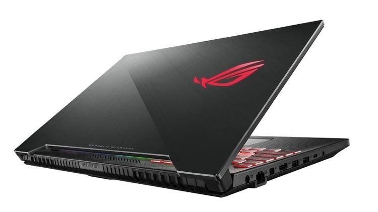 """Экран игрового ноутбука ASUS ROG GL504 обладает частотой обновления 144 Гц"""""""