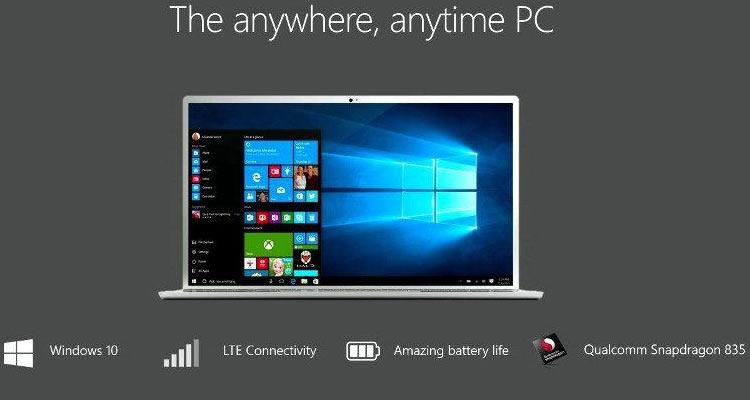 """ASUS готовит мобильный ПК на базе Snapdragon 1000 и Windows 10 ARM"""""""