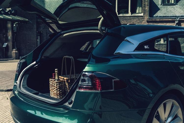 "Фото дня: спорт-универсал на базе электрокара Tesla Model S"""