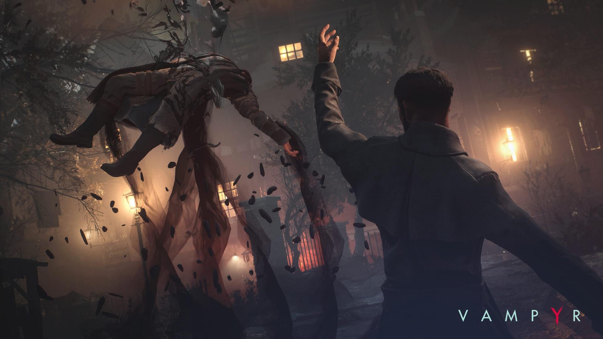 Свежий трейлер Vampyr напоминает оскором релизе игры
