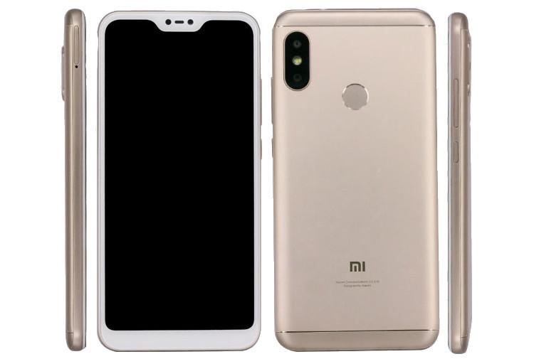"""Смартфон Xiaomi Mi A2 Lite с экраном FHD+ выйдет в девяти цветах"""""""
