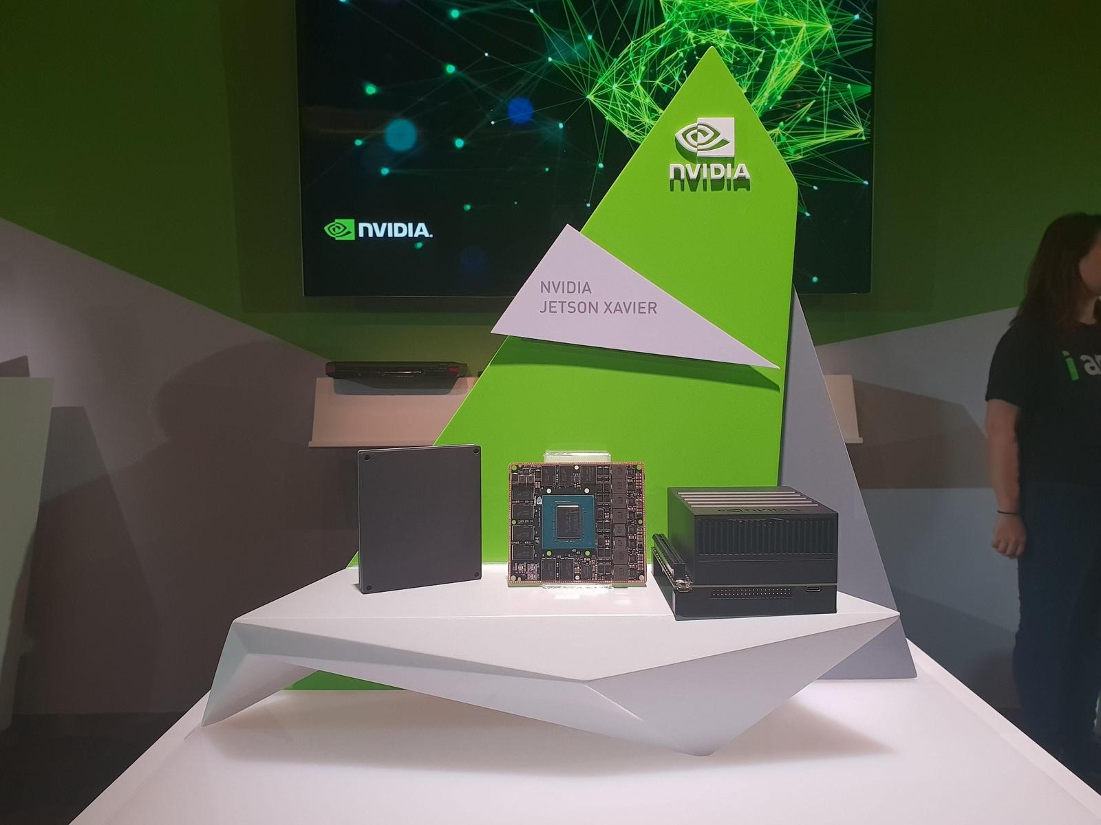 """NVIDIA представила систему Jetson Xavier для интеллектуальных роботов"""""""