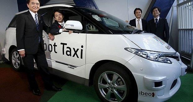 """Япония запустит сервис самоуправляемых автомобилей к Олимпиаде 2020"""""""