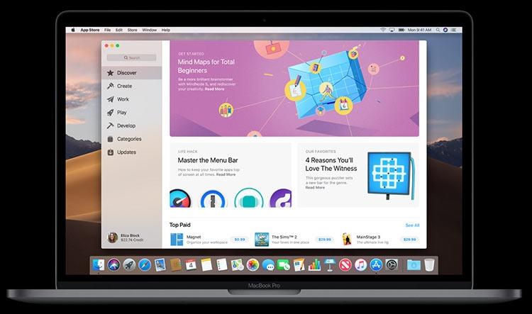 "Apple анонсировала macOS Mojave с тёмным стилем"""