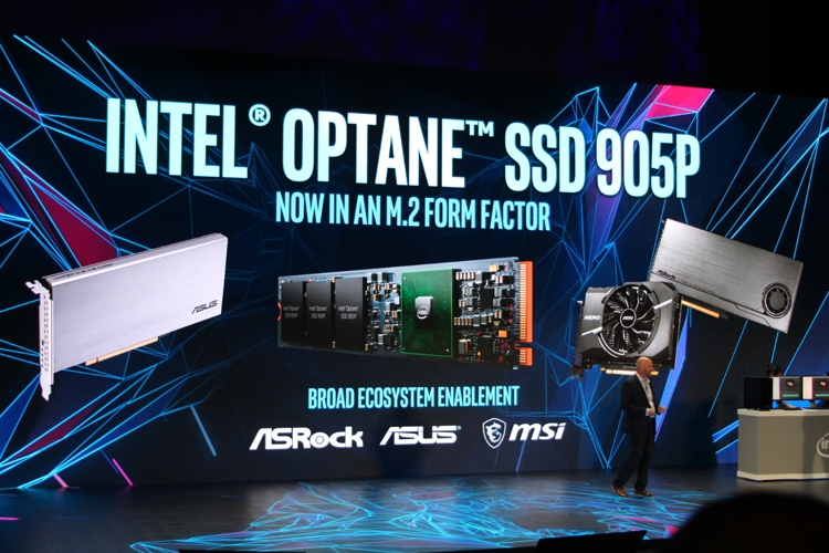 "Computex 2018: дебют накопителей Intel Optane 905P в формате M.2-22110"""