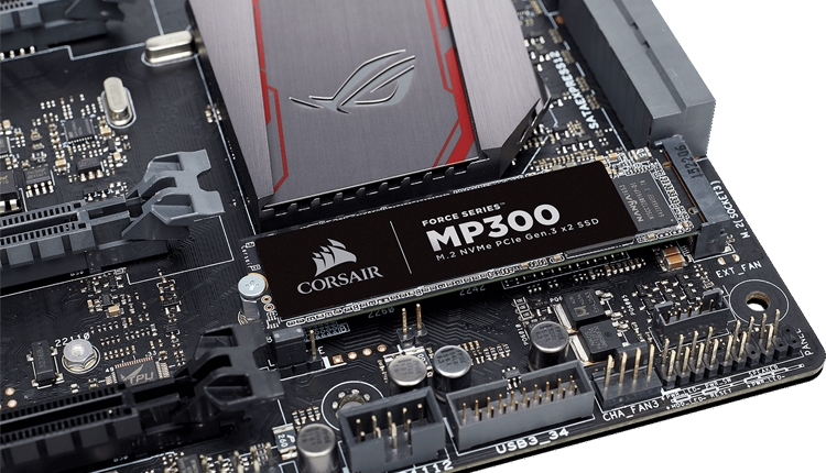 cs1 - Computex 2018: ёмкость SSD-накопителей Corsair MP300 M.2 достигает 960 Гбайт