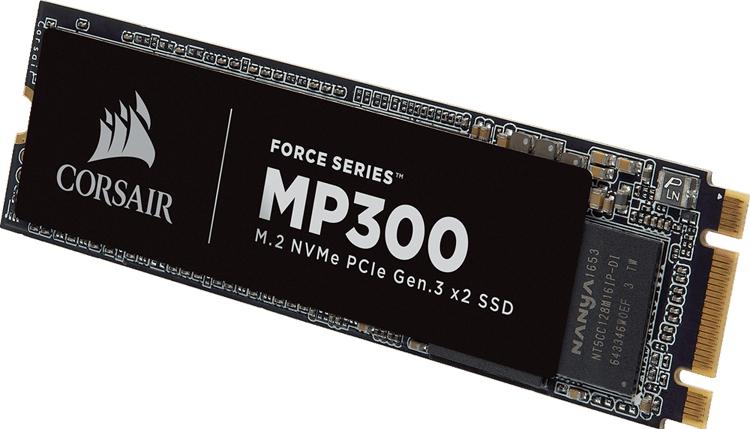 cs2 - Computex 2018: ёмкость SSD-накопителей Corsair MP300 M.2 достигает 960 Гбайт