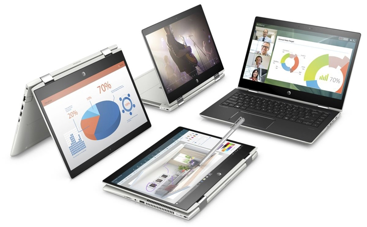 Computex 2018: ноутбук-трансформер бизнес-класса HP ProBook x360 400 G1
