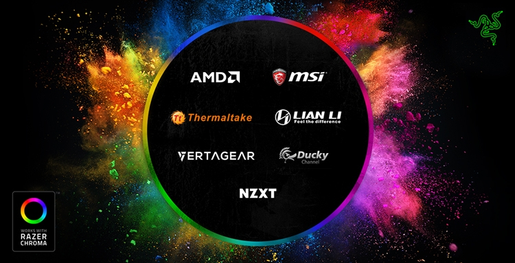 "Computex 2018: система подсветки Razer Chroma станет доступна сторонним компаниям"""