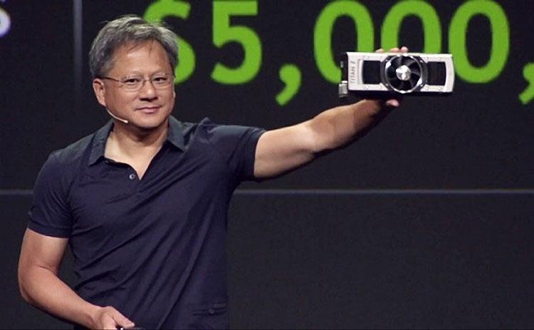 """Глава NVIDIA заверил, что анонс новых игровых ускорителей будет нескоро"""""""