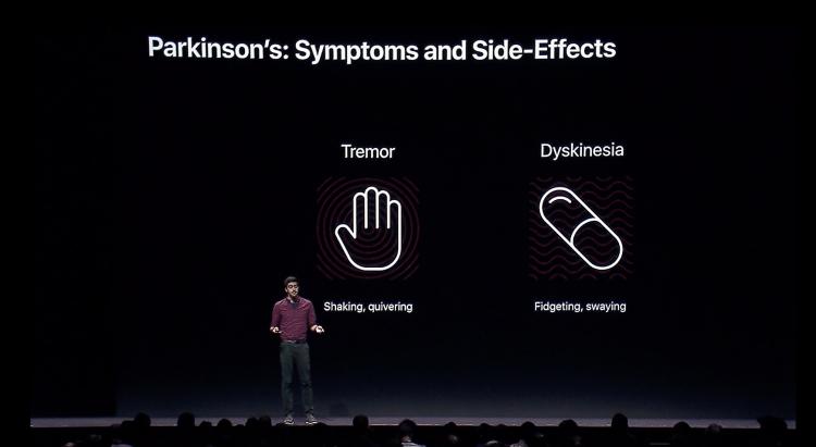 """С помощью Apple Watch можно будет отслеживать симптомы болезни Паркинсона"""""""
