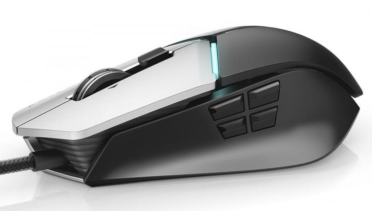 """Геймерская мышь Alienware Elite Gaming Mouse предстала в обновлённом исполнении"""""""