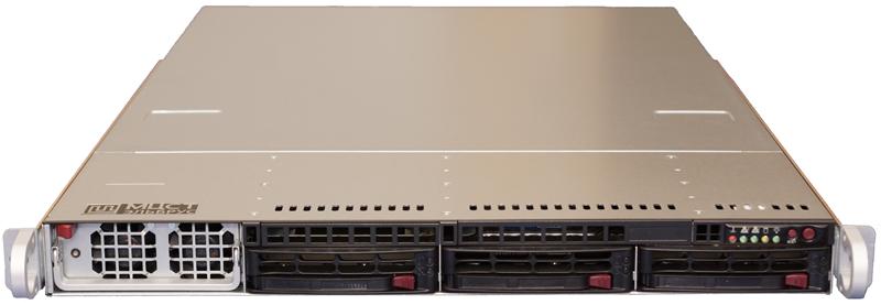 Сервер «Эльбрус-4.4» — стоечный сервер на базе микропроцессоров «Эльбрус-4С»
