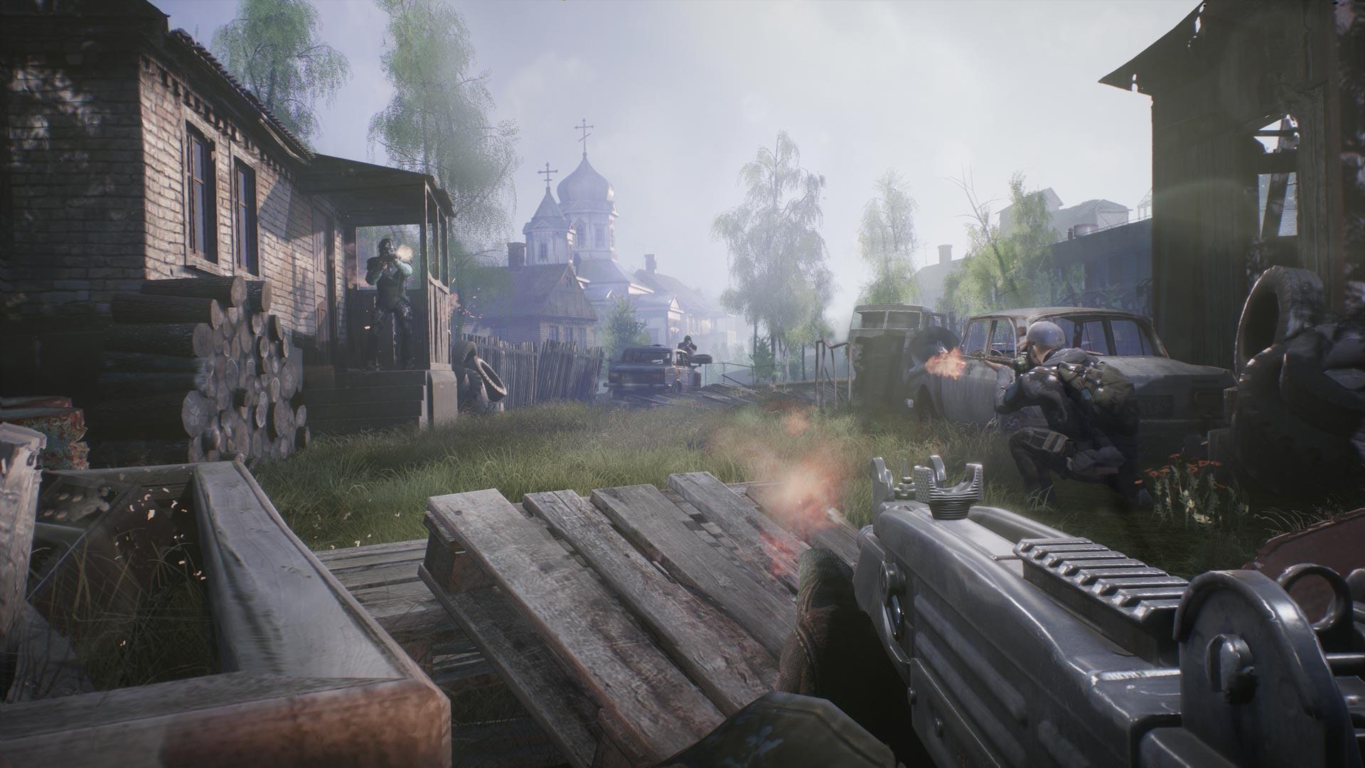 E3-трейлер игры Fear the Wolves