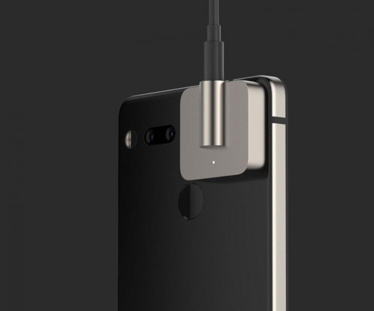 """Новый модуль для Essential Phone — 3,5-мм разъём для наушников"""""""