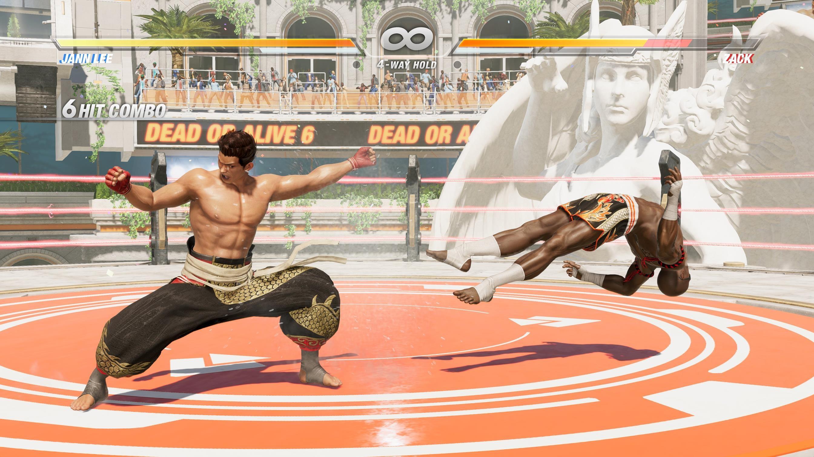 Dead or Alive 6 появится на РС, PS4 и Xbox One в 2019 году