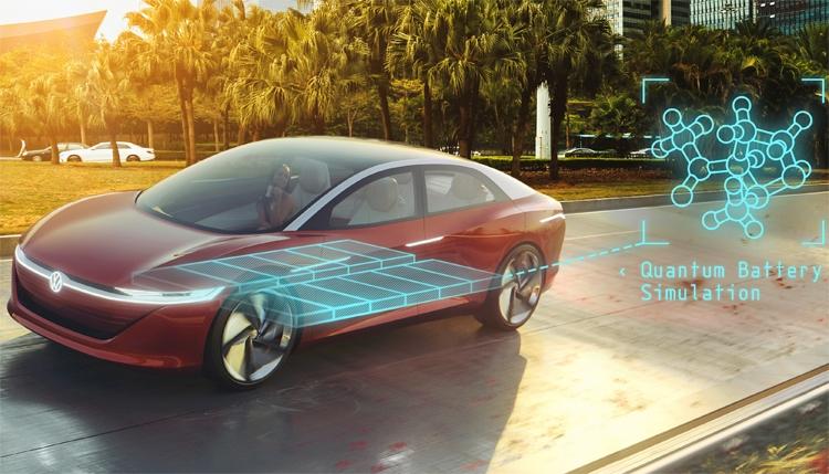 """Квантовые компьютеры помогут Volkswagen в создании передовых аккумуляторов"""""""