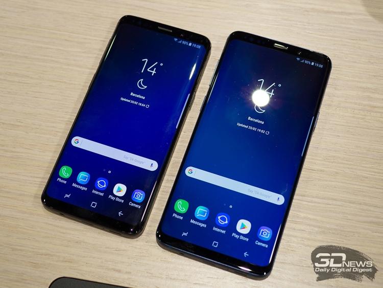 """Аппараты Samsung Galaxy S9 стали самыми продаваемыми в мире смартфонами"""""""